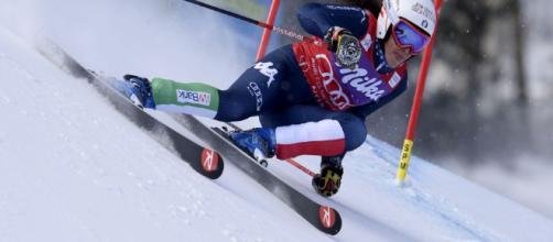 Sci Alpino, Federica Brignone in azione