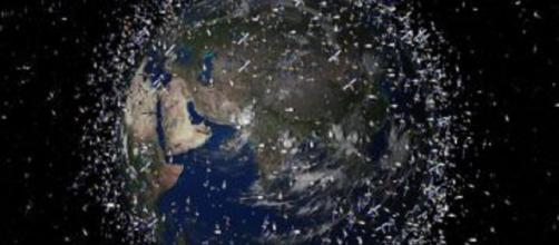 Space junk [image courtesy David.Shikomba wikimedia commons]