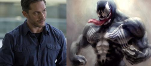 Spider-Man Venom Teaser - Tom Hardy First Look and Comics Story Breakdown [Image Credit: Emergency Awesome/YouTube screencap]