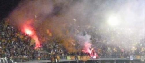 Tanti spettatori per Lecce- Catania.