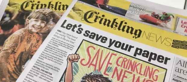 Crinkling News, Australia's only kids' newspaper, saved as $200k ... - net.au