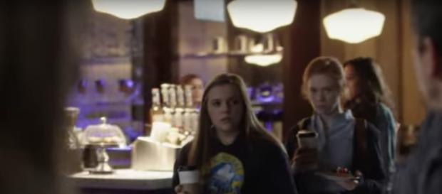 Deacon and Jessie's date is busted by Maddie on 'Nashville' (Source: TV Promos/YouTube Screencap)
