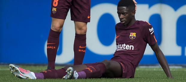 Dembélé, lesionado hasta 2018! | FC Barcelona - mundodeportivo.com