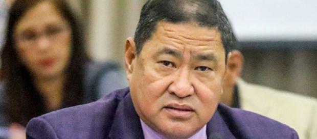 El presidente del comité de justicia de la Cámara de Representantes, Reynaldo Umali