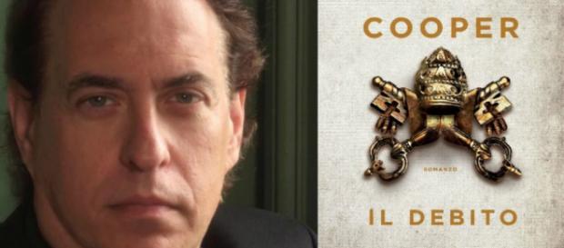 Glenn Cooper e l'ultimo bestseller 'Il debito'.