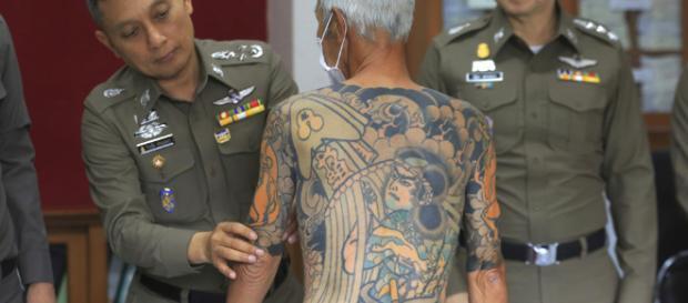 capo Yakuza giapponese arrestato