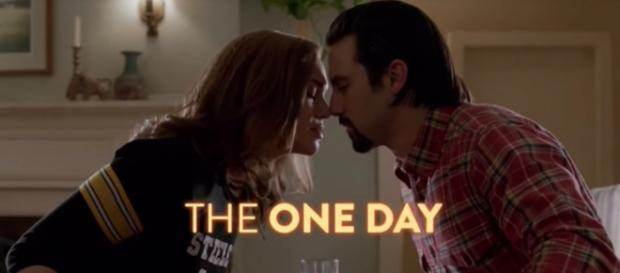 Mandy Moore and Milo Ventimiglia star on NBC's 'This Is Us' - Image via YouTube