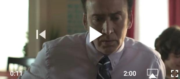 Nicolas Cage displays some real authentic Cage-Rage in the jet-black horror-comedy. - [Mom and Dad / YouTube screencap]