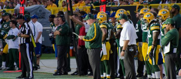 Green Bay Packers Photo credit: Green Bay PAckers/ Wikimedia Commons