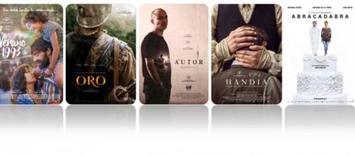 Carteles de las películas nominadas al Goya 2018