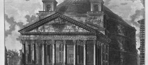 del Panteón de Agripa de Giovanni Battista Piranesi (1720-1778, Italy) - wahooart.com