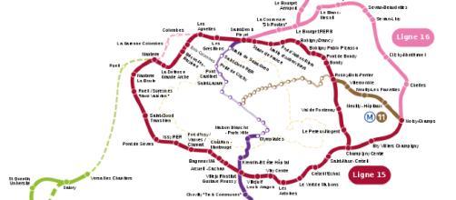 Il Gran Paris Express è un progetto di metropolitane attorno a Parigi