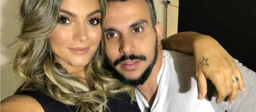 Kelly Key e o esposo Mico Freitas