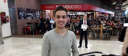 Llegada de un venezolano a Madrid