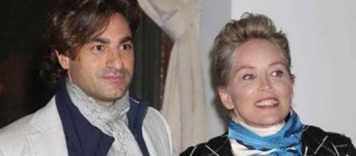 Sharon Stone insieme al suo nuovo compagno
