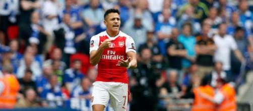 Un Alexis Sánchez que podría ir al Manchester United