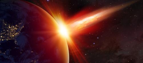 Un asteroide ha colpito la Terra