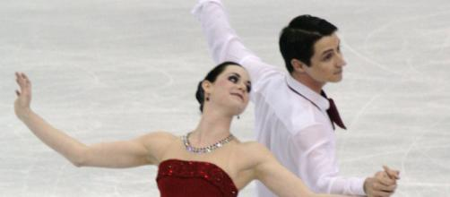 Virtue and Moir will carry the Canadian flag in the 2018 winter Olympics/ Photo via: Wikimedia Commons