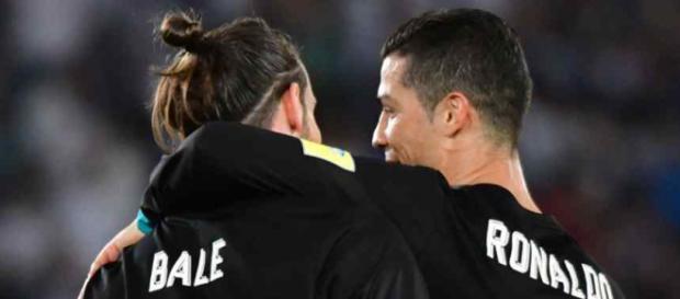 Bale joga com Cristiano Ronaldo