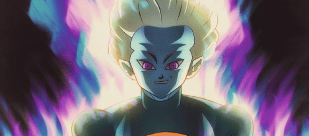 Daishinkan mostrando un aura maligna