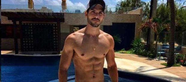Felipe já trabalhou fora do Brasil como modelo