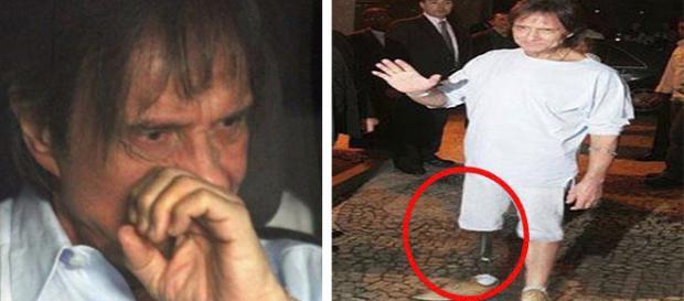 Imagem manipulada de Roberto Carlos constantemente circula na internet