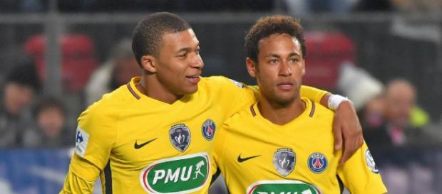 Neymar & Cavani la mejor pareja para el equipo