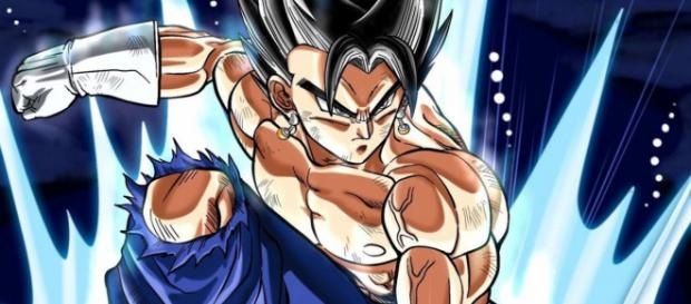 Vegeta Ultra Instinto en el final de Dragon Ball Super.