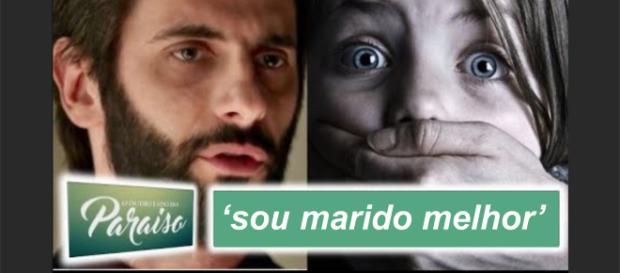 """Vinícius e Laura na novela """"O Outro Lado do Paraíso"""""""