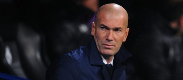 Zinedine Zidane tras un encuentro