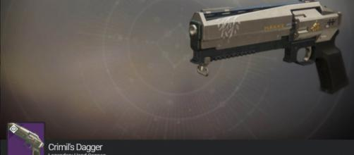 An Iron Banner-themed hand cannon - YouTube/xHOUNDISHx