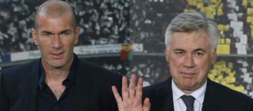 Ancelotti: 'Zidane mi ha aiutato molto, ha carisma'