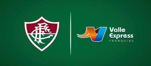 Anúncio de novo patrocinador master: uma das novidades da sexta do Flu (Foto: Reprodução/Site Oficial do Fluminense FC)