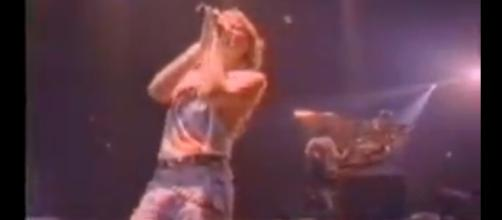 Def Leppard in action. - [Captain Tig / YouTube screencap]
