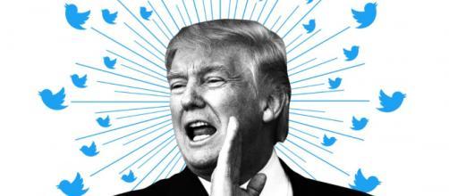 Donald Trump, une année de tweets