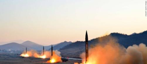 Misiles inexistentes de Corea del Norte.