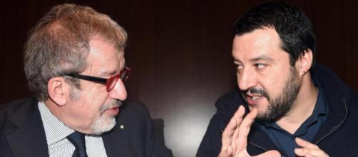 Nella Lega è scontro tra Salvini e Maroni su Giulia Bongiorno