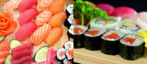 Un esempio di sushi in tutte le sue varianti