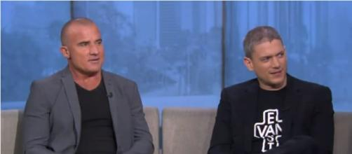 Wentworth Miller & Dominic Purcell. - [deux1111 / YouTube Screencap]