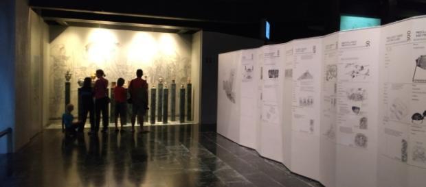 Antesala del Museo Maya de Chetumal