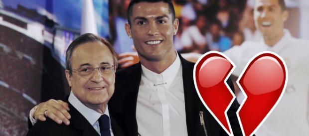 Cristiano Ronaldo y Florentino Perez juntos