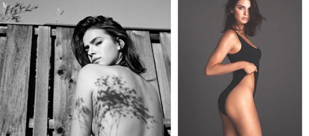 Depois de postar foto sensual, Bruna Marquezine chegou a ser comparada com modelo famosa.