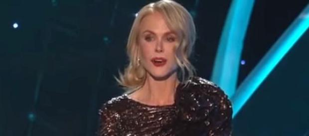 Nicole Kidman admitted she had the flu during her acceptance speech at SAG Awards [Image: TBS/YouTube screenshot]