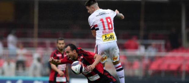 São Paulo joga mal e sai vaiado do Morumbi (imagem reprodução Blasting News)