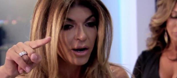 Teresa Giudice from a screenshot of the show