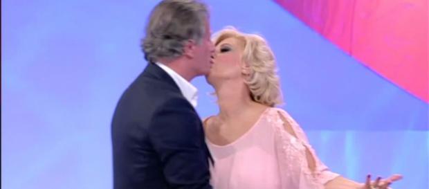 Tina e Giorgio paparazzati insieme