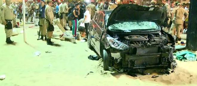Terrorismo em Copacabana? Atropelamento em massa termina com bebê morto