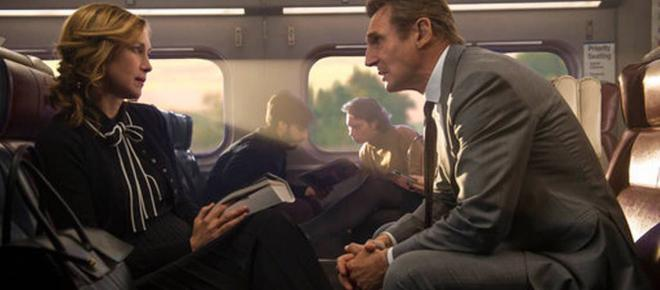 'The Commuter' driected by Collet-Serra, 2018 review