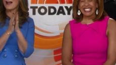 Hoda Kotb heralds in New Year as new 'Today' co-anchor