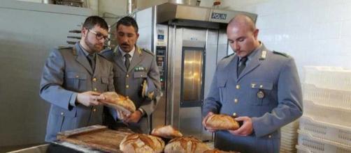 Carabinieri di Catania nella panetteria abusiva